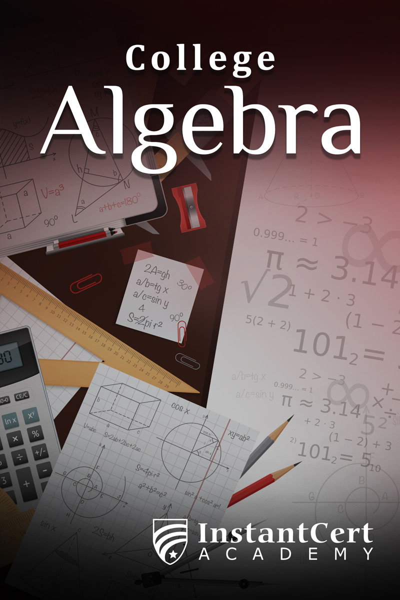 College Algebra course cover